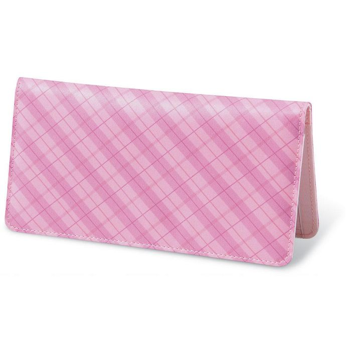 Perfectly Plaid Fabric Personal Checkbook Cover