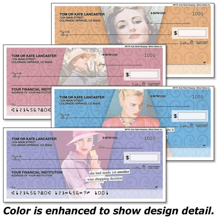 Anne Taintor Duplicate Checks