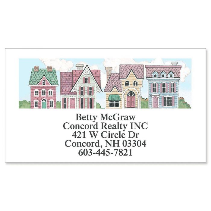 Victorian Homes Business Cards