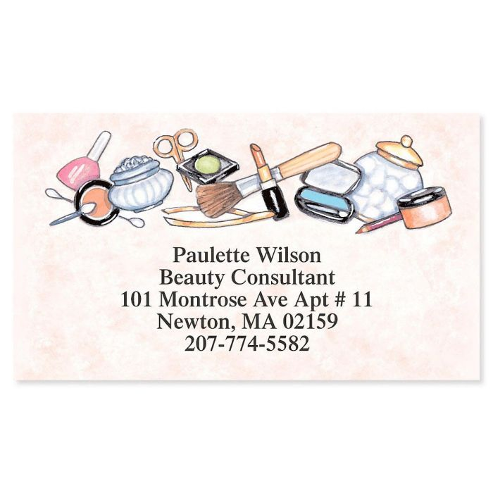 Beauty Consultant Business Cards
