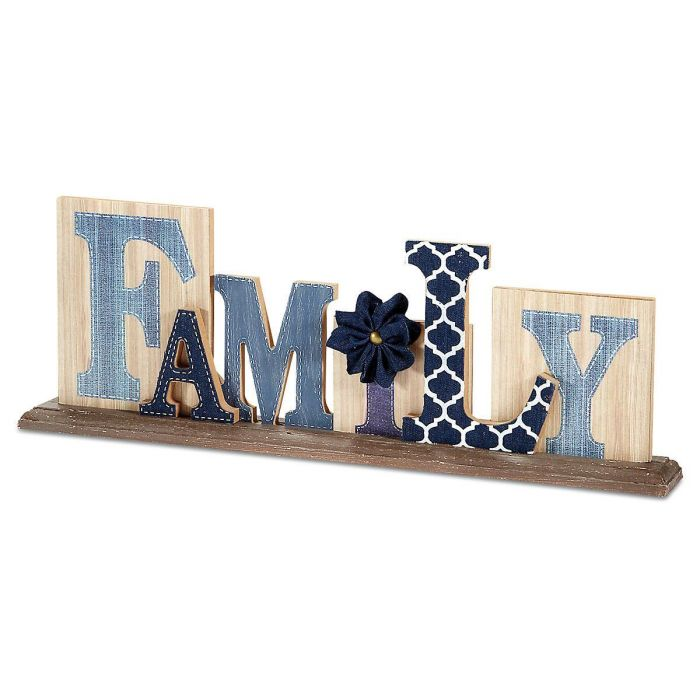 Family Tabletop Sign
