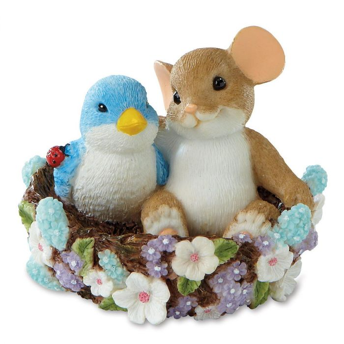 May Your Home Bloom With Friends by Charming Tails®