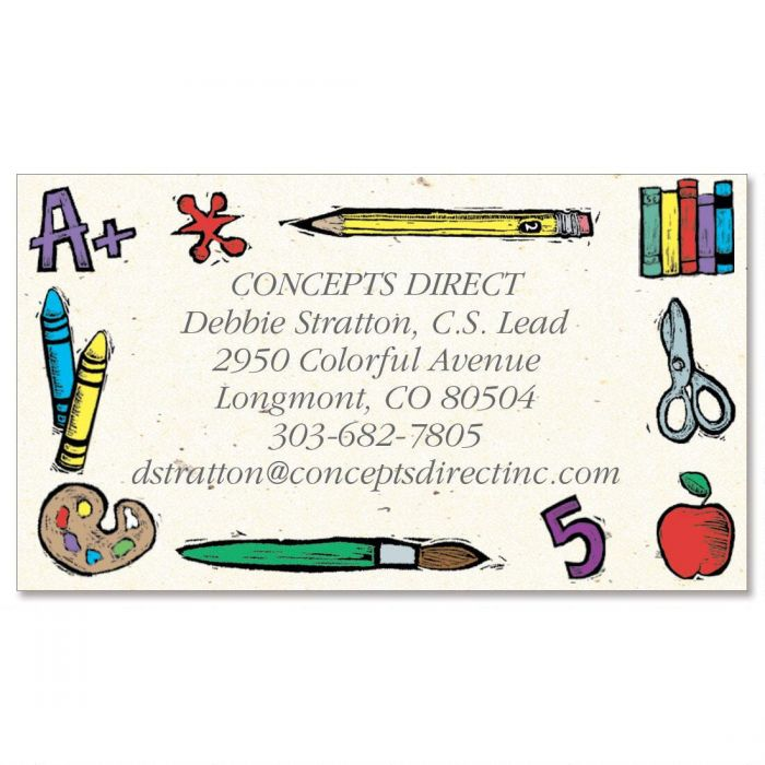 Class Time  Business Cards