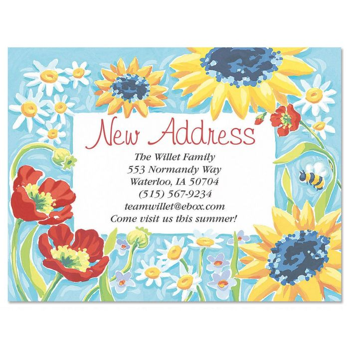 New Horizons New Address Postcards