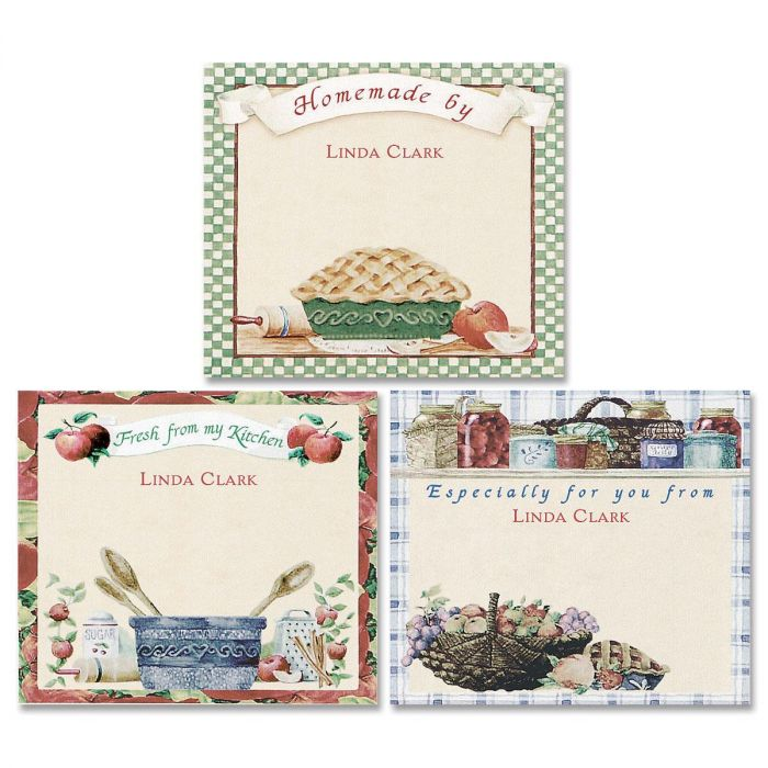 Vicky's Country Kitchen Canning Labels - Large