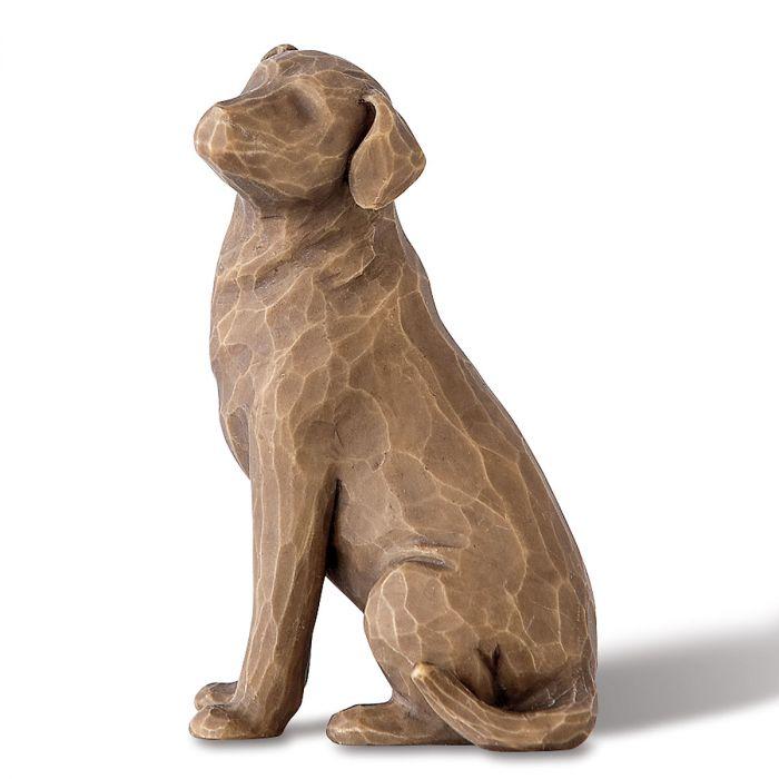 Love My Dark Colored Dog Figurine by Willow Tree®