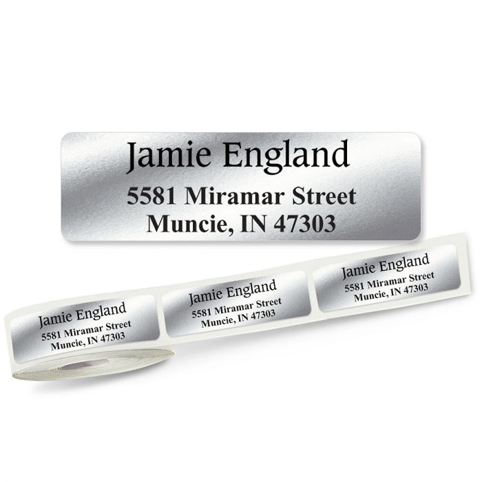 Conventional Rolled Address Labels - 3 Colors (Roll of 500)