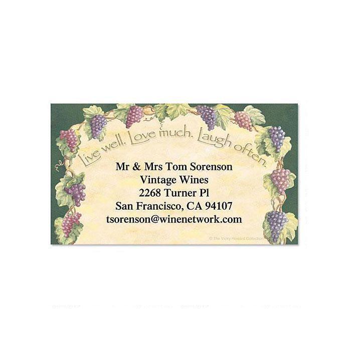 Live, Love, Laugh Business Cards