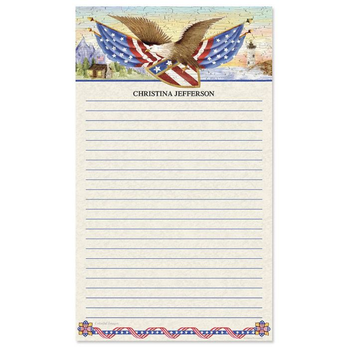 American Eagle Lined Memo Pads
