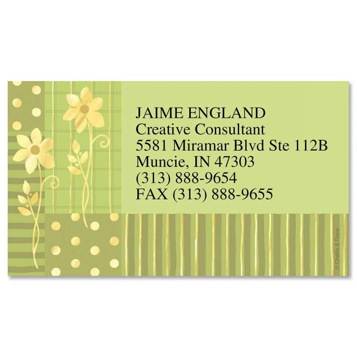 Gilded field foil business cards colorful images gilded field foil business cards colourmoves