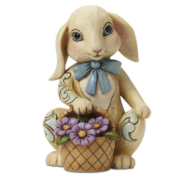 Bunny with Basket Figurine by Jim Shore