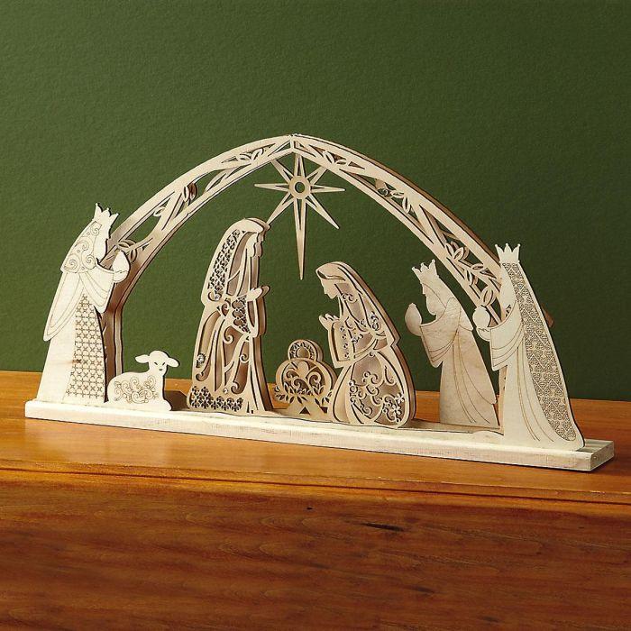 Flourish Nativity Scene