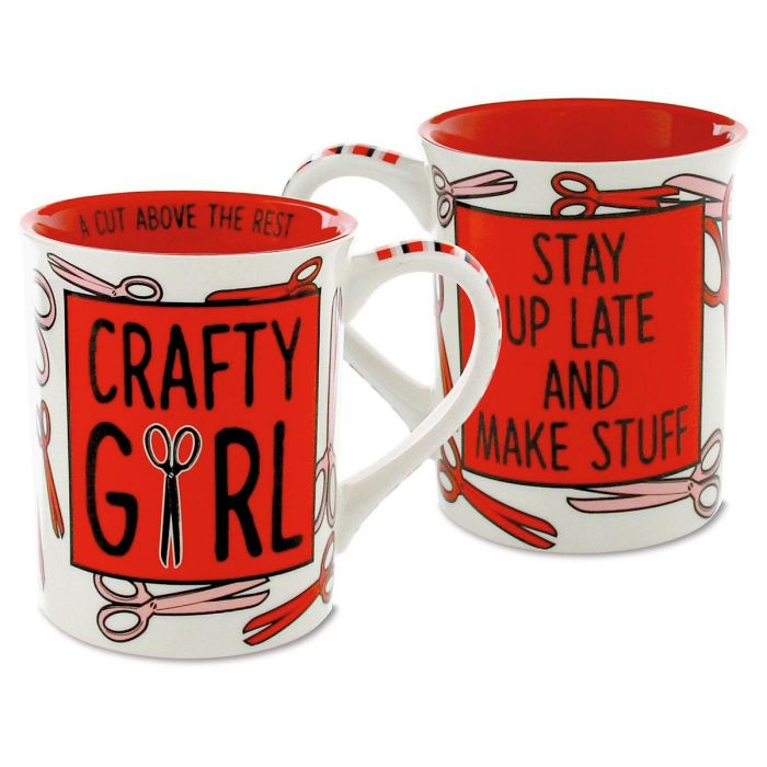 Crafty Girl Novelty Mug