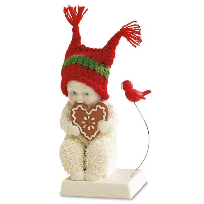 Snowbabies™ Sharing a Sweet Tweet Figurine