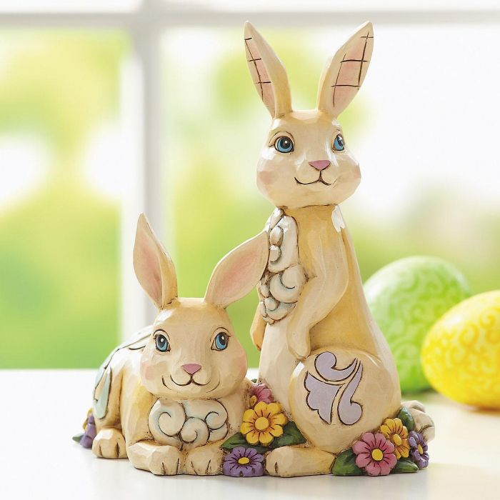 Double Bunnies by Jim Shore