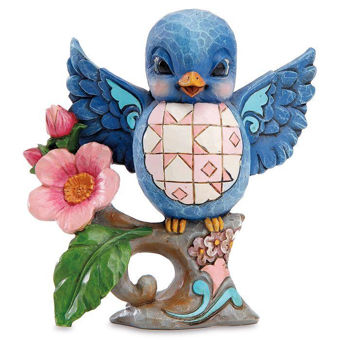 Lazy & Lovable Bluebird by Jim shore