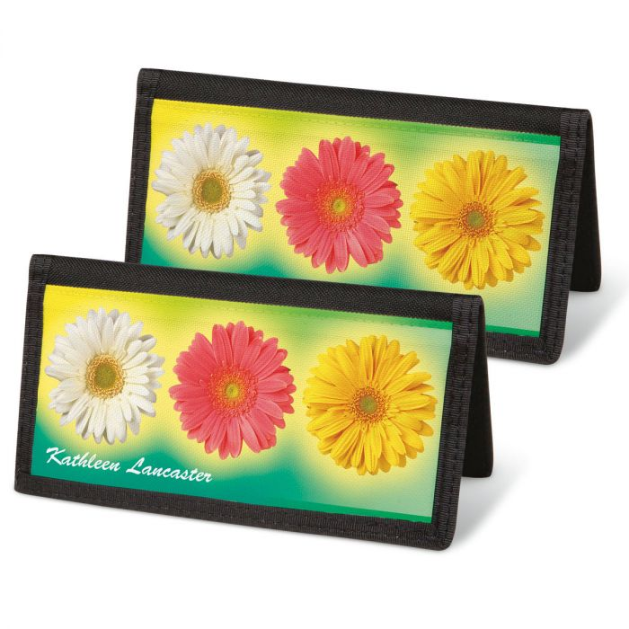 Illuminated Petals Personal Checkbook Covers