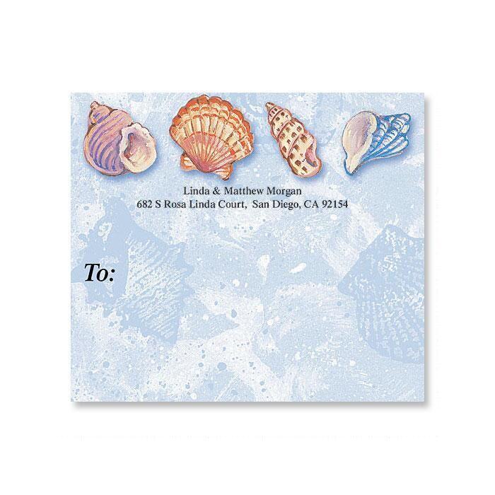 Ocean Jewels Package Labels