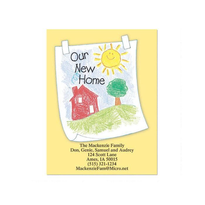 A Child's New Home  Postcards