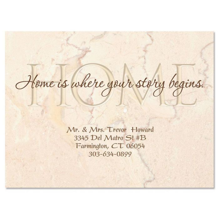 Your Story New Address Postcards