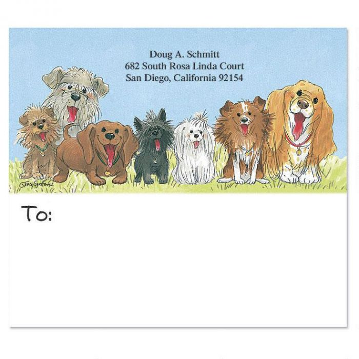Wags™ Package Labels by ©Suzy Spafford