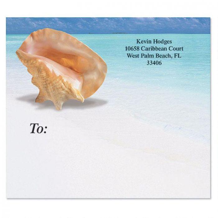 Calm Seas Package Labels