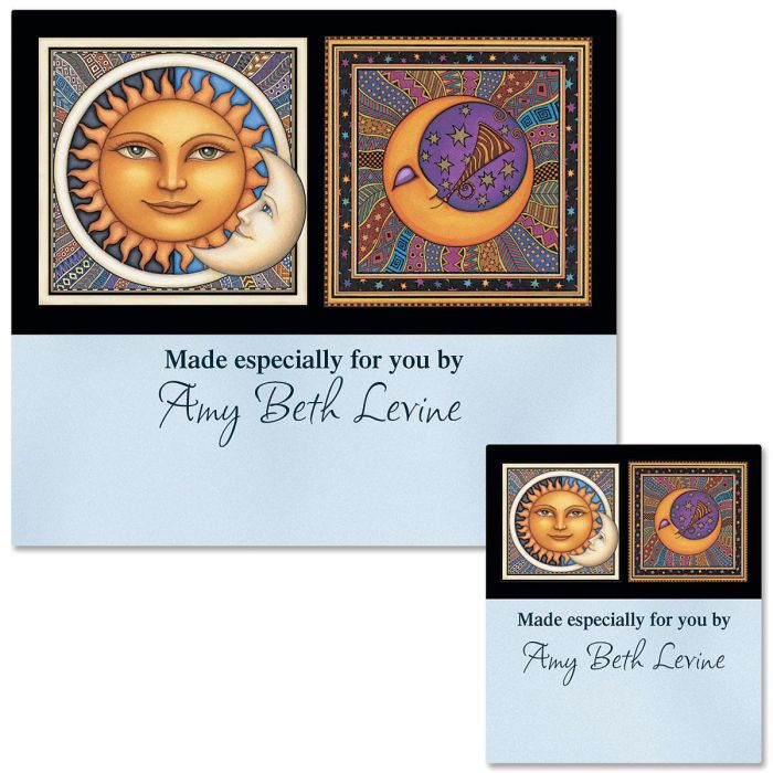Sun & Moon Canning Labels - Large