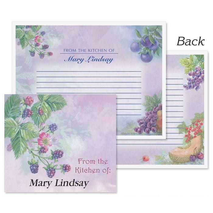 Fruit Impressions Recipe Cards