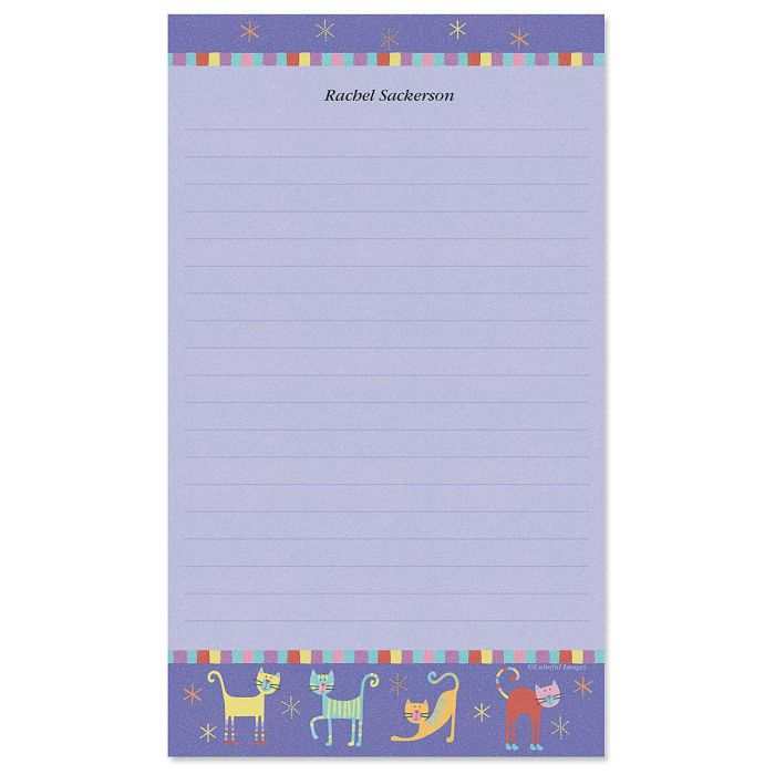 Fun Cats Custom Memo Pads