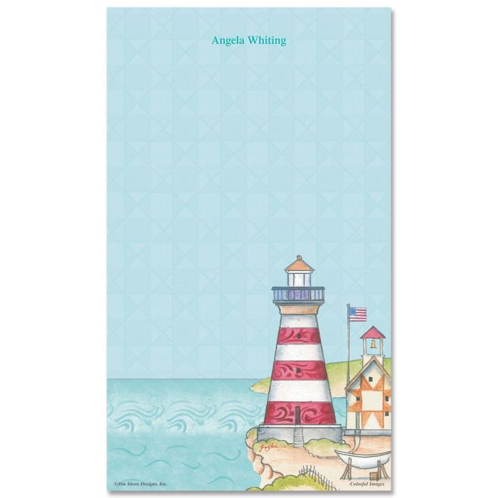 Lighthouse Custom Memo Pads by Jim Shore