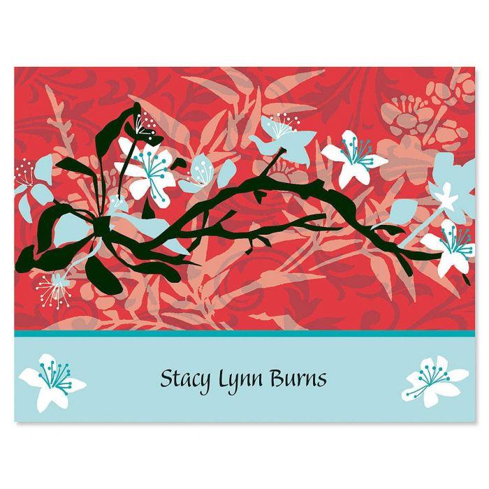 Asian Art  Custom Note Cards