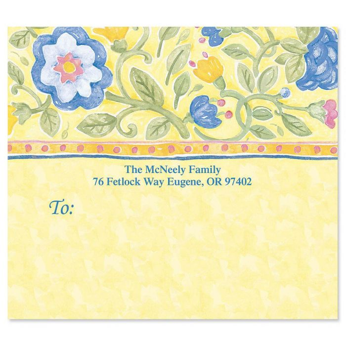 Tuscan Sun Package Labels