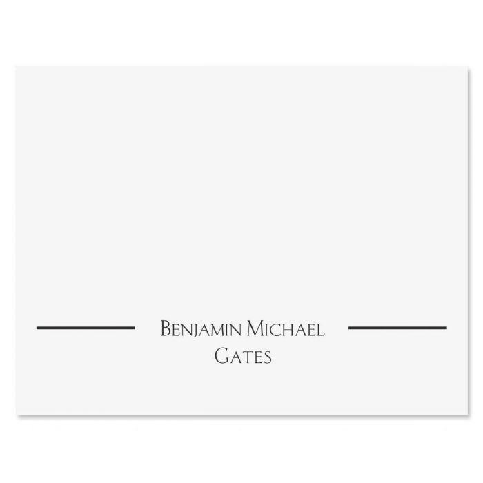 Elegant Custom Note Cards
