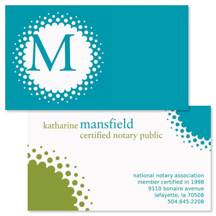 Sweet Spot Double-Sided Business Cards