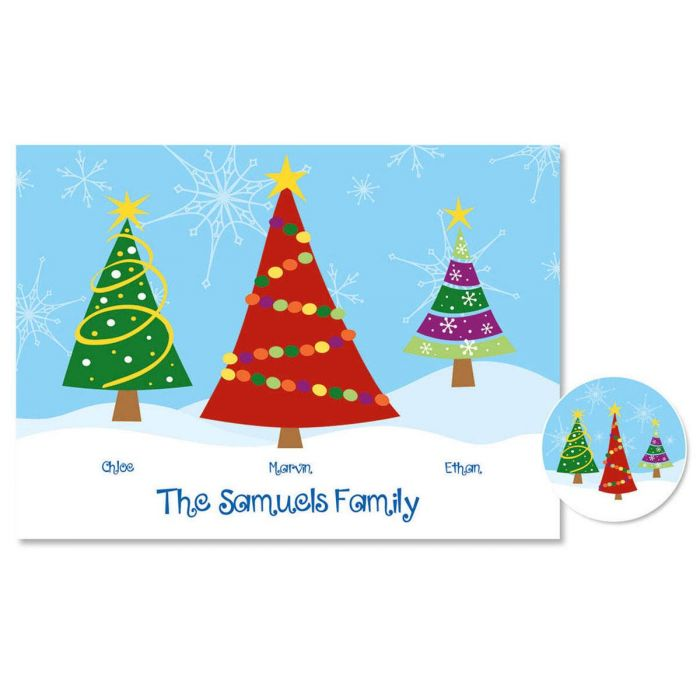 Family Trees  Christmas Cards