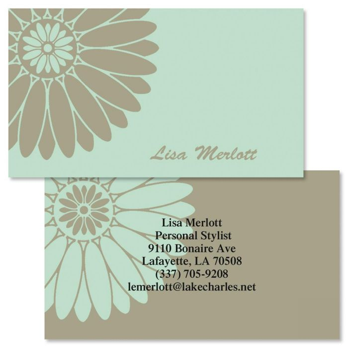 Serene  Double-Sided  Business Cards