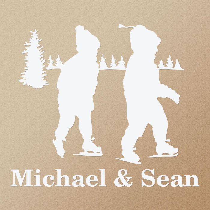 My Silhouette Personalized Vinyl Wall Art