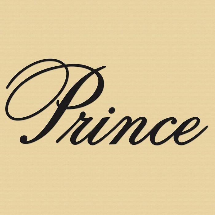 Prince Black Vinyl  Wall Art