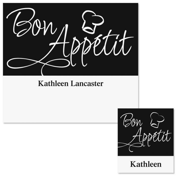 Bon App&#233tit Canning Labels - Small