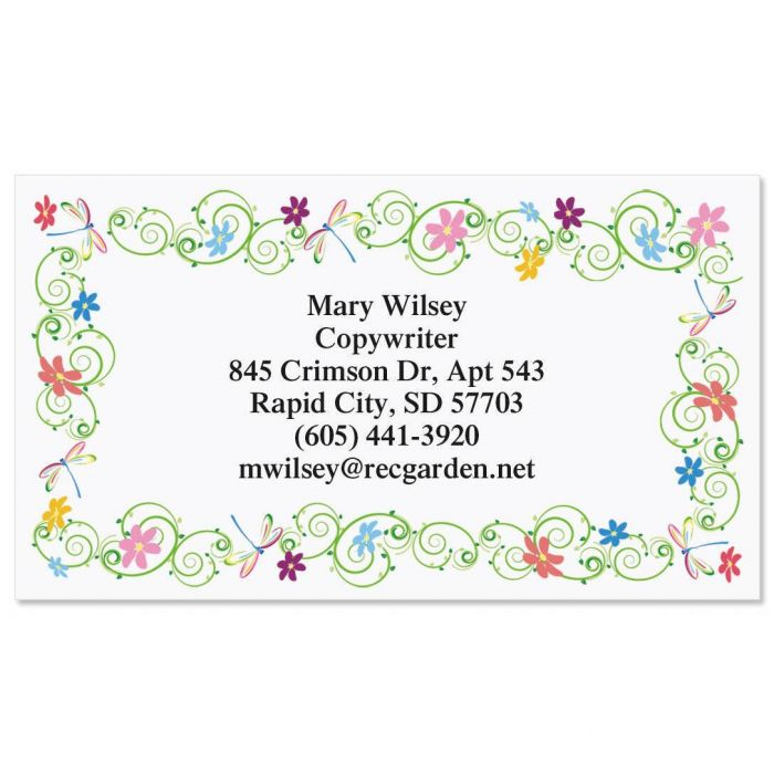 Dragonflies  Business Cards
