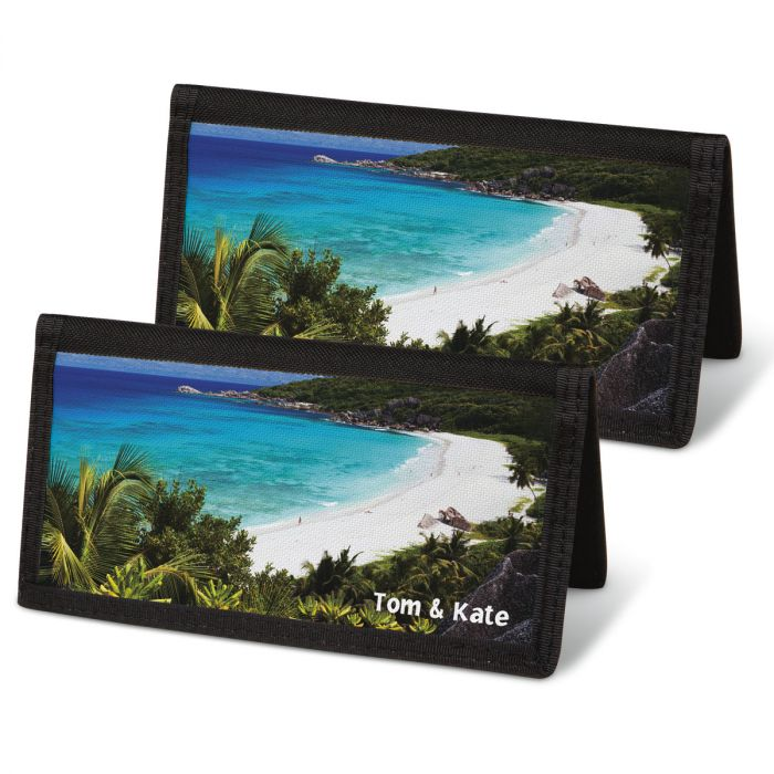 Tropical Paradise II Personal Checkbook Covers