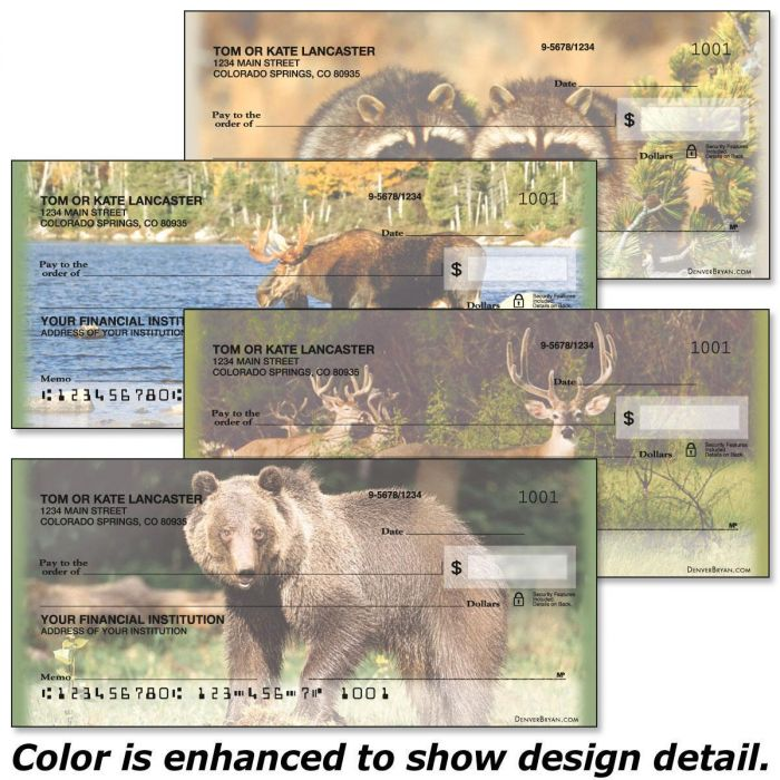 Wildlife II Personal Checks