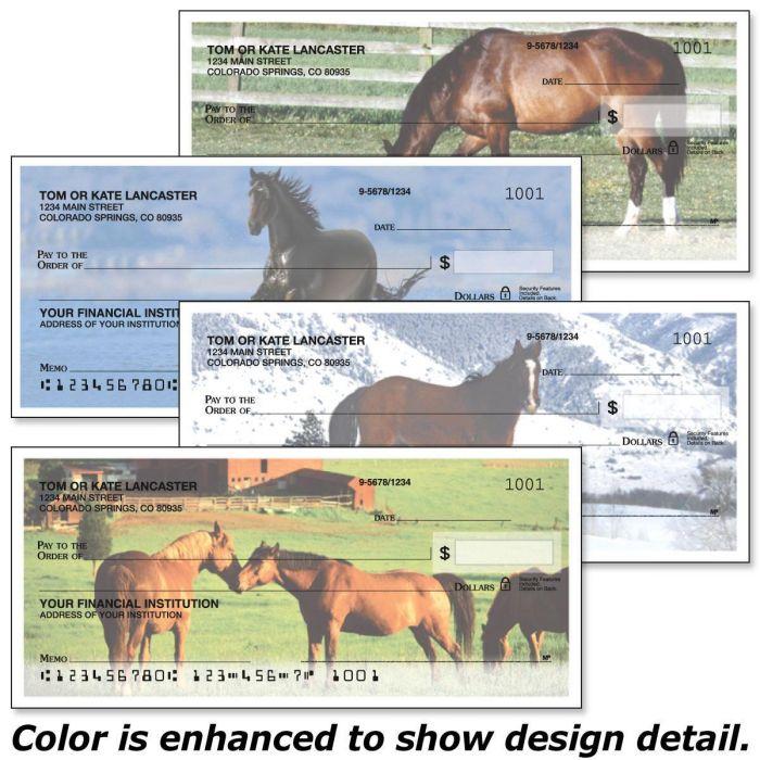 Horse Enthusiast Single Checks