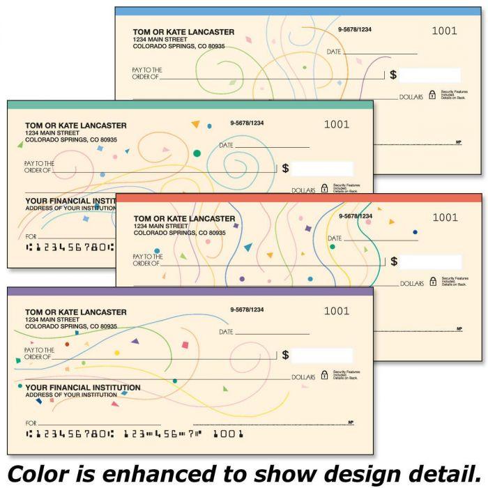 Confetti Personal Checks