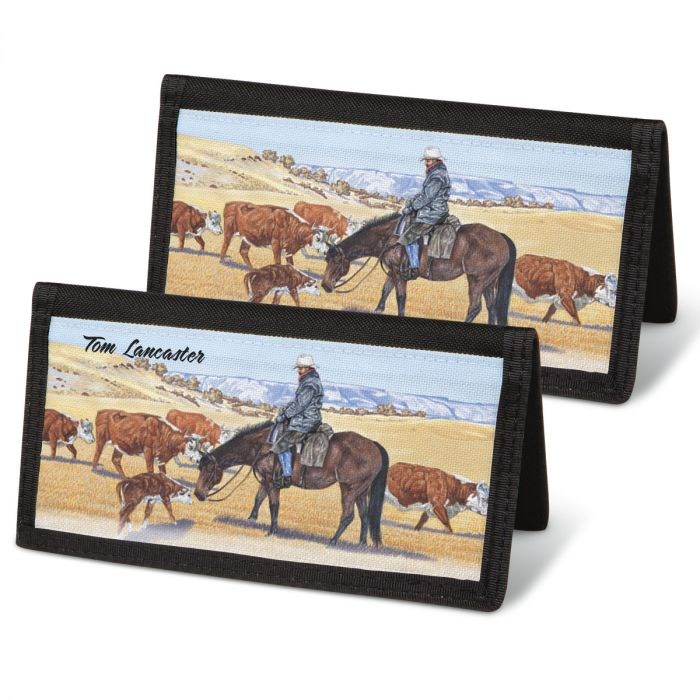 Cowboy Personal Checkbook Covers
