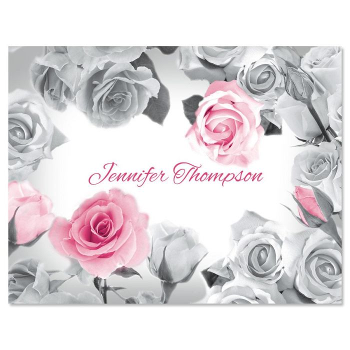 First Blush Custom Note Cards