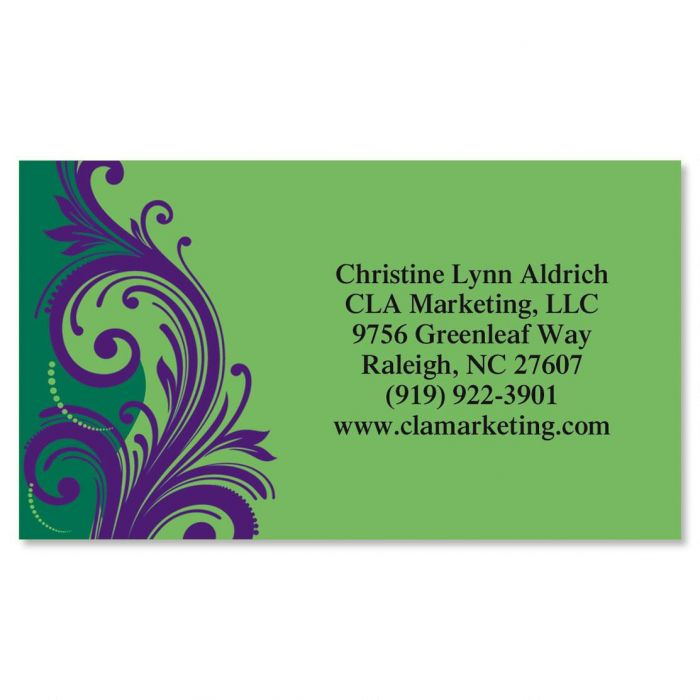 Emerald & Royal Business Cards