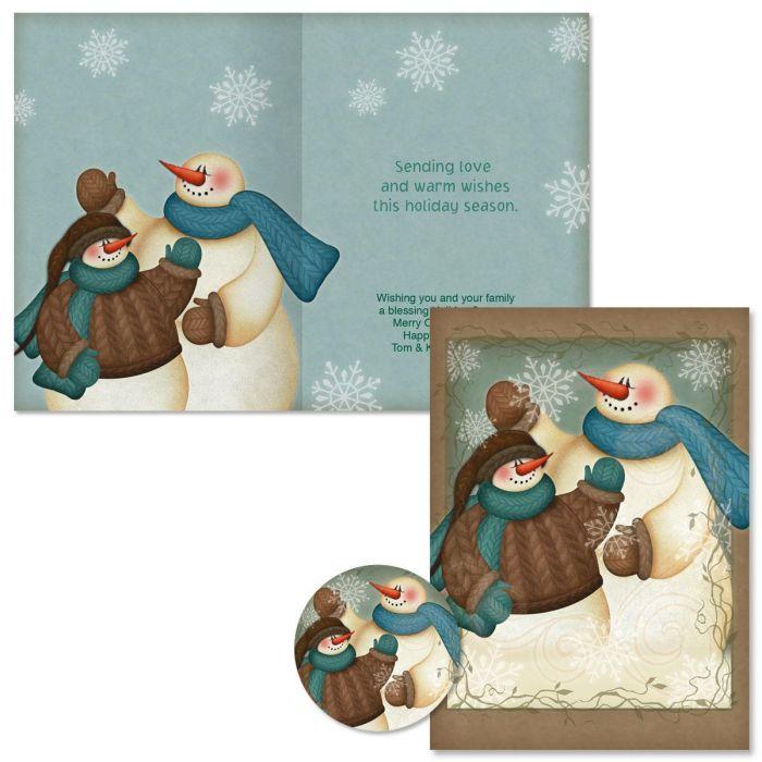 A Winter Hello Christmas Cards