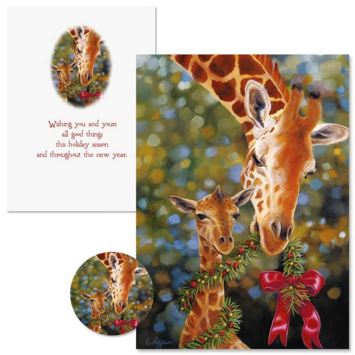 You and Yours Christmas Cards - Nonpersonalized