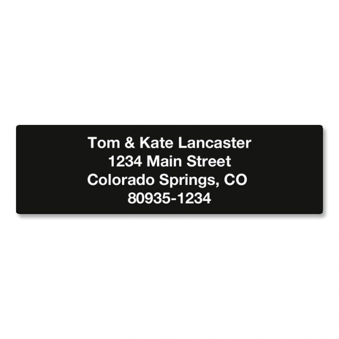 Solid Color Designer Rolled Address Labels - Roll of 250